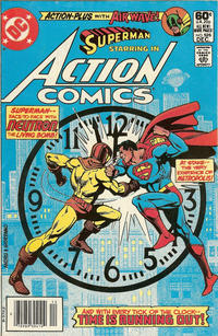 Cover Thumbnail for Action Comics (DC, 1938 series) #526 [Newsstand]