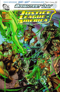 Cover Thumbnail for Justice League of America Sonderband (Panini Deutschland, 2007 series) #13 - Die dunklen Dinge 1