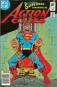 Cover Thumbnail for Action Comics (DC, 1938 series) #539 [Newsstand]