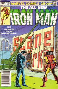 Cover Thumbnail for Iron Man (Marvel, 1968 series) #173 [Newsstand]