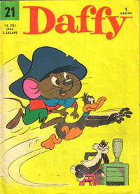 Cover Thumbnail for Daffy (Allers Forlag, 1959 series) #21/1960