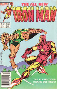 Cover for Iron Man (Marvel, 1968 series) #177 [Direct]