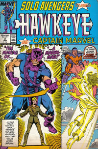 Cover Thumbnail for Solo Avengers (Marvel, 1987 series) #2 [Direct]
