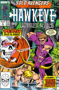Cover Thumbnail for Solo Avengers (Marvel, 1987 series) #5 [Direct]
