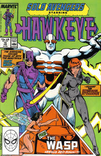 Cover Thumbnail for Solo Avengers (Marvel, 1987 series) #15 [Direct]