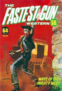 Cover Thumbnail for The Fastest Gun Western (K. G. Murray, 1972 series) #35
