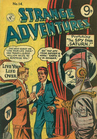 Cover Thumbnail for Strange Adventures (K. G. Murray, 1954 series) #14