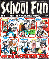 Cover Thumbnail for School Fun (IPC, 1983 series) #5