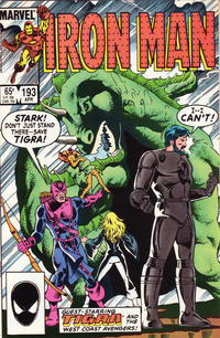 Cover Thumbnail for Iron Man (Marvel, 1968 series) #193 [Direct Edition]