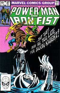 Cover Thumbnail for Power Man and Iron Fist (Marvel, 1981 series) #87 [direct]