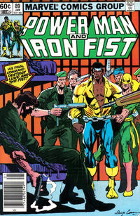 Cover Thumbnail for Power Man and Iron Fist (Marvel, 1981 series) #89 [newsstand]