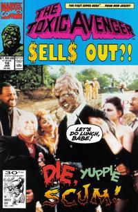 Cover Thumbnail for Toxic Avenger (Marvel, 1991 series) #10