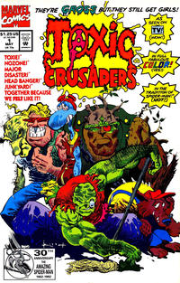 Cover Thumbnail for Toxic Crusaders (Marvel, 1992 series) #1