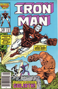 Cover Thumbnail for Iron Man (Marvel, 1968 series) #206 [Newsstand Edition]