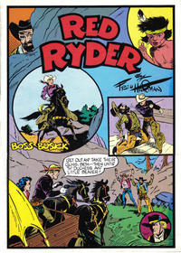 Cover Thumbnail for Red Ryder:  Boss Busick (Pacific Comics Club, 1979 series)