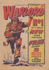 Cover Thumbnail for Warlord (D.C. Thomson, 1974 series) #1