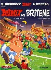 Cover Thumbnail for Asterix [Seriesamlerklubben] (Hjemmet / Egmont, 1998 series) #5 - Asterix hos britene