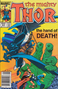 Cover Thumbnail for Thor (Marvel, 1966 series) #343 [Newsstand]