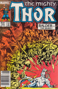 Cover Thumbnail for Thor (Marvel, 1966 series) #344 [newsstand edition]