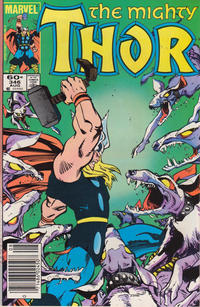 Cover Thumbnail for Thor (Marvel, 1966 series) #346 [Newsstand Edition]