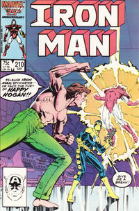 Cover Thumbnail for Iron Man (Marvel, 1968 series) #210 [Direct Edition]