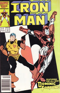 Cover Thumbnail for Iron Man (Marvel, 1968 series) #213 [Newsstand]