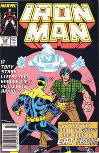 Cover Thumbnail for Iron Man (Marvel, 1968 series) #220 [Newsstand Edition]