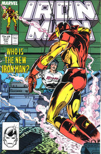 Cover Thumbnail for Iron Man (Marvel, 1968 series) #231 [Direct]