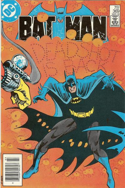 Cover for Batman (DC, 1940 series) #369 [Newsstand]
