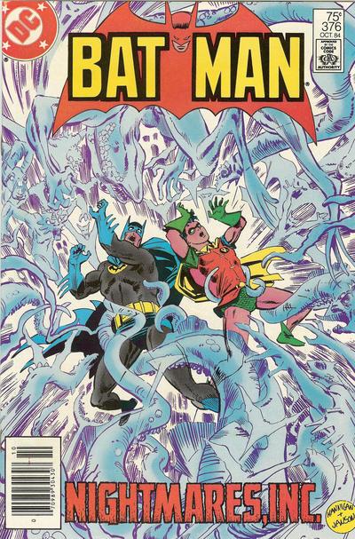 Cover for Batman (DC, 1940 series) #376 [Newsstand]