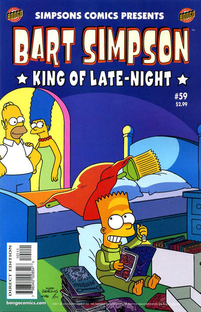 Cover for Simpsons Comics Presents Bart Simpson (Bongo, 2000 series) #59