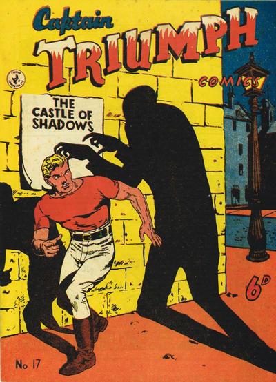 Cover for Captain Triumph Comics (K. G. Murray, 1947 series) #17