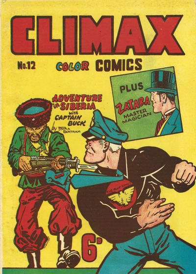 Cover for Climax Color Comic (K. G. Murray, 1947 series) #12