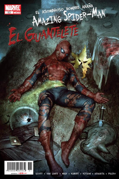 Cover for The Amazing Spider-Man, el Asombroso Hombre Araña (Editorial Televisa, 2005 series) #53