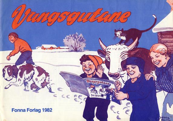 Cover for Vangsgutane (Fonna Forlag, 1941 series) #1982