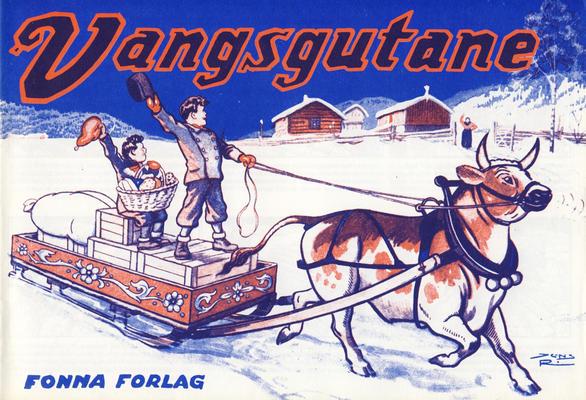 Cover for Vangsgutane (Fonna Forlag, 1941 series) #1983