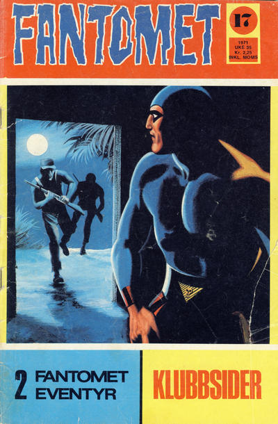 Cover for Fantomet (Romanforlaget, 1966 series) #17/1971