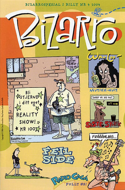 Cover for Bizarro [Bilag til Billy] (Hjemmet / Egmont, 2004 series) #[4/2004]