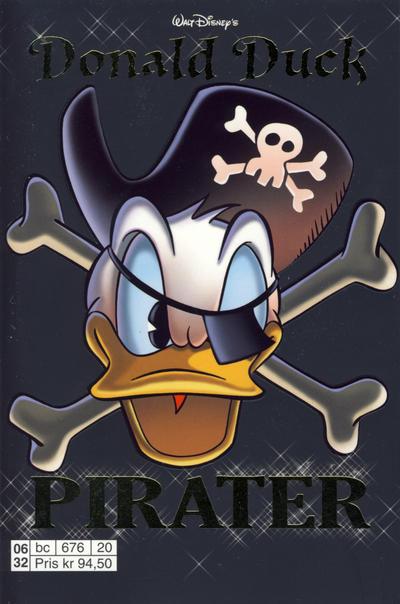 Cover for Donald Duck Tema pocket; Walt Disney's Tema pocket (Hjemmet / Egmont, 1997 series) #Donald Duck Pirater