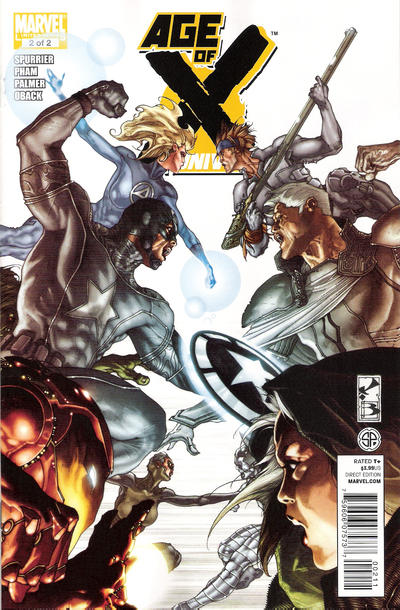 Cover for Age of X: Universe (Marvel, 2011 series) #2