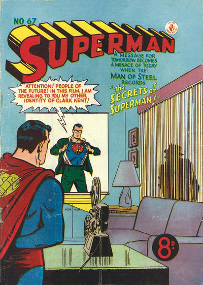 Cover for Superman (K. G. Murray, 1947 series) #67