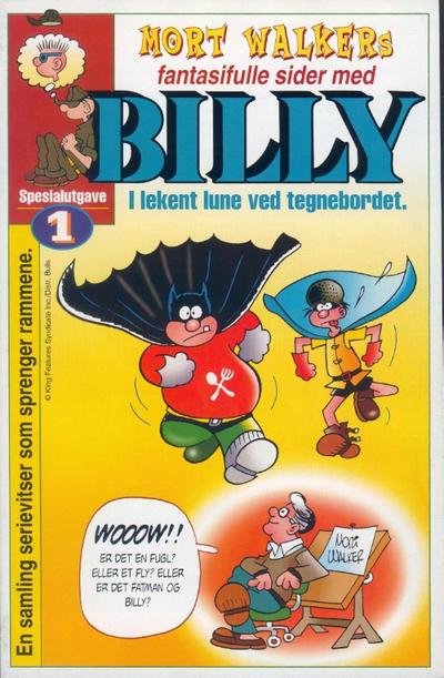 Cover for Billy Spesialutgave [Bilag til Billy] (Hjemmet / Egmont, 2001 series) #1