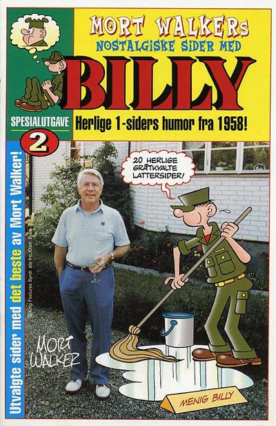 Cover for Billy Spesialutgave [Bilag til Billy] (Hjemmet / Egmont, 2001 series) #2