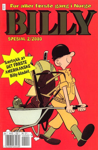 Cover for Billy Spesial (Hjemmet / Egmont, 1998 series) #2/2000