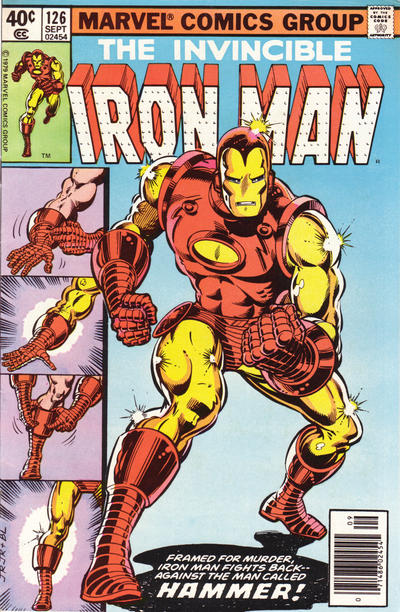 Cover for Iron Man (Marvel, 1968 series) #126 [Newsstand]