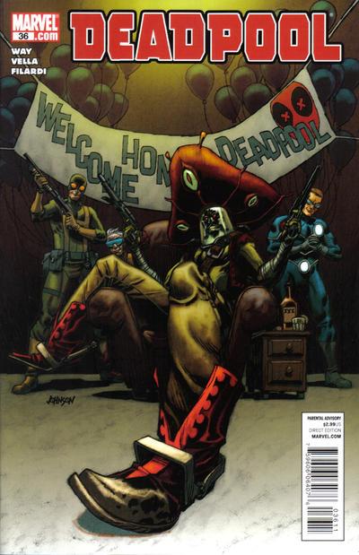 Cover for Deadpool (Marvel, 2008 series) #36