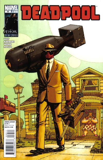 Cover for Deadpool (Marvel, 2008 series) #35