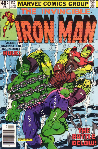 Cover for Iron Man (Marvel, 1968 series) #132