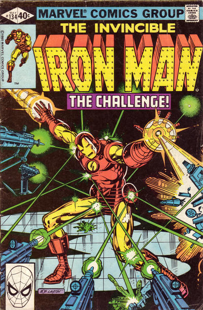 Cover for Iron Man (Marvel, 1968 series) #134 [Newsstand]