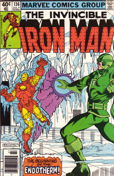 Cover for Iron Man (Marvel, 1968 series) #136 [direct edition]